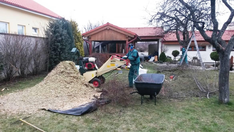 Jarná údržba záhrad a orez ovocných stromov